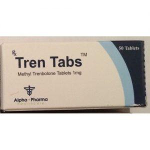 Alpha Pharma Tren Tabs