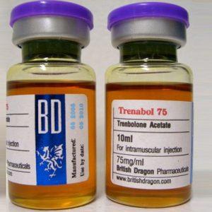 BM Pharmaceuticals Trenbolone-75