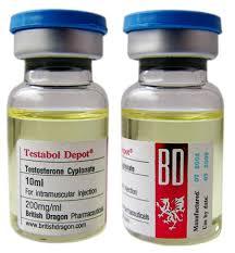 British Dragon Testabol Depot