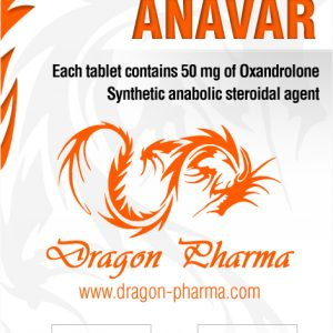 Dragon Pharma Anavar 50