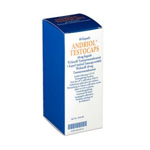 Sun Pharmaceuticals Andriol Testocaps