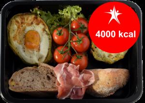 dieta 4000 calorias