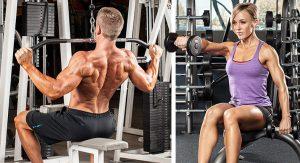 dieta y rutina de definicion muscular