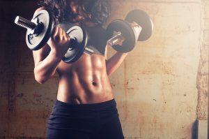 Rutina y dieta de definición para mujer