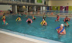 ejercicios se realizan en el agua