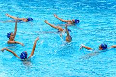 natación síncrona