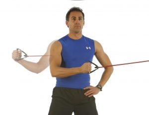 rotacion externa hombro