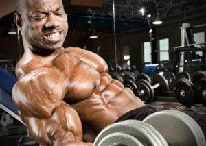 bombear los músculos
