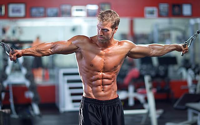 entrenamiento en un alivio músculos