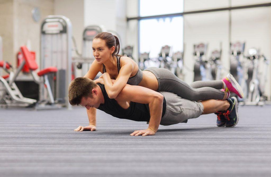 realizar flexiones